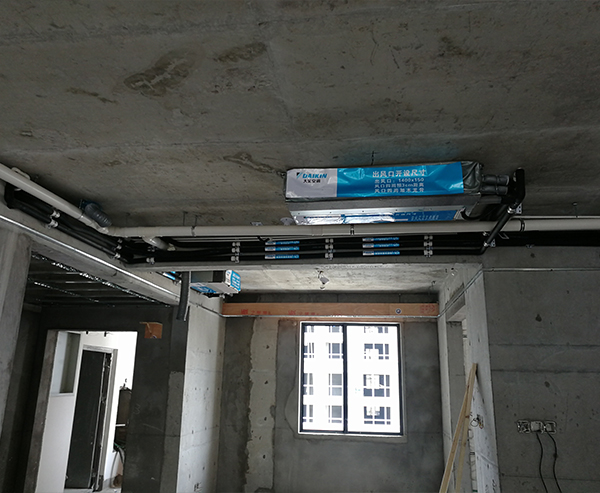家用中央空调安装实例五