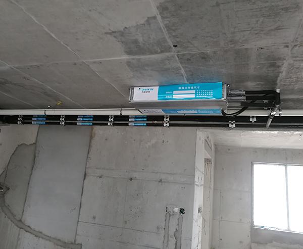 家用中央空调安装实例七