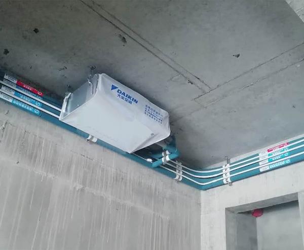 家用中央空调安装实例十一
