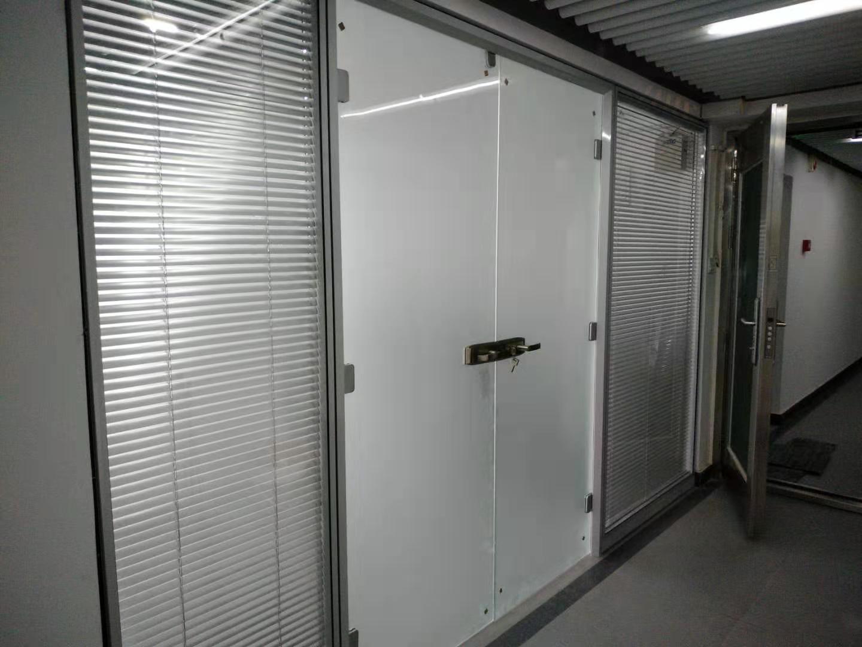 双层玻璃隔断安装