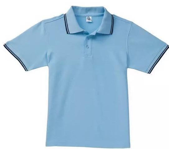 儿童翻领广告衫