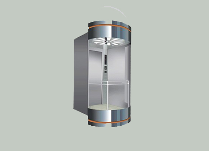 弧形观光电梯