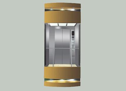 半圆形观光电梯