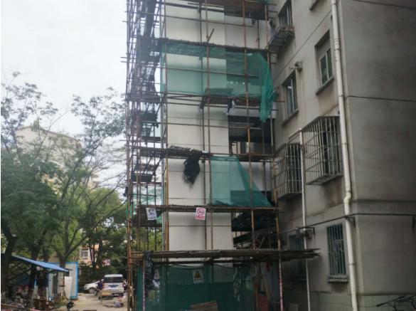 西安旧楼电梯改造