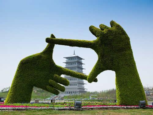 西安世界园艺博览园四大标建水源空调井