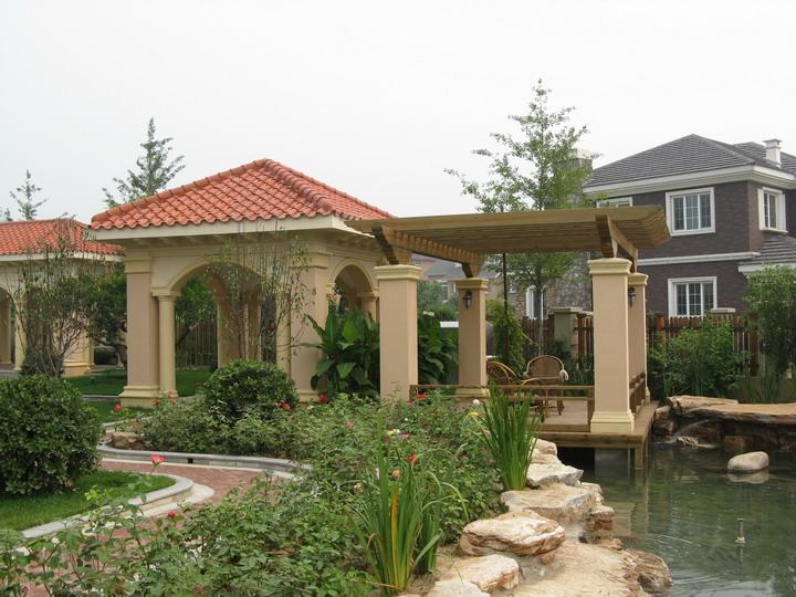 西安庭院花园