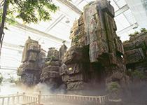 西安水泥塑石假山