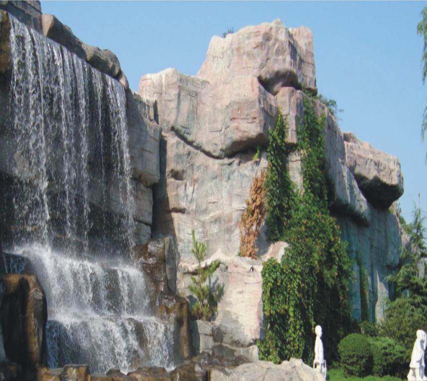 水泥雕塑假山