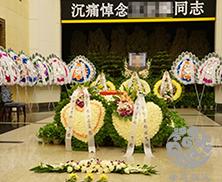 西安某部队军官追悼会
