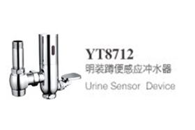 YT8712明装蹲便器感应冲水阀