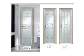 铝型材平开门6