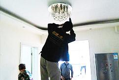 灯具安装案例