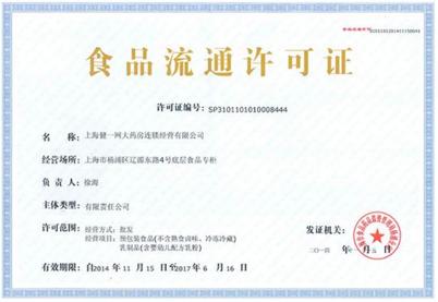西安小賣部食品流通許可證辦理案例