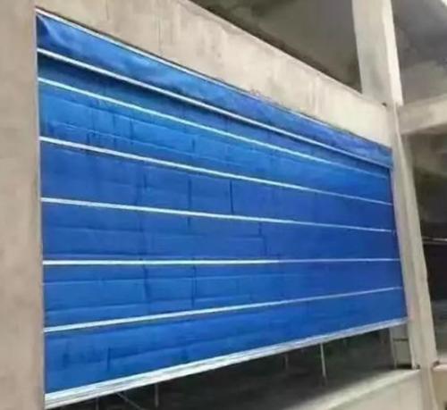 西安无机布防火卷帘门安装