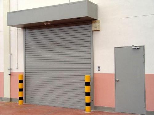 新疆无机布防火卷帘门安装