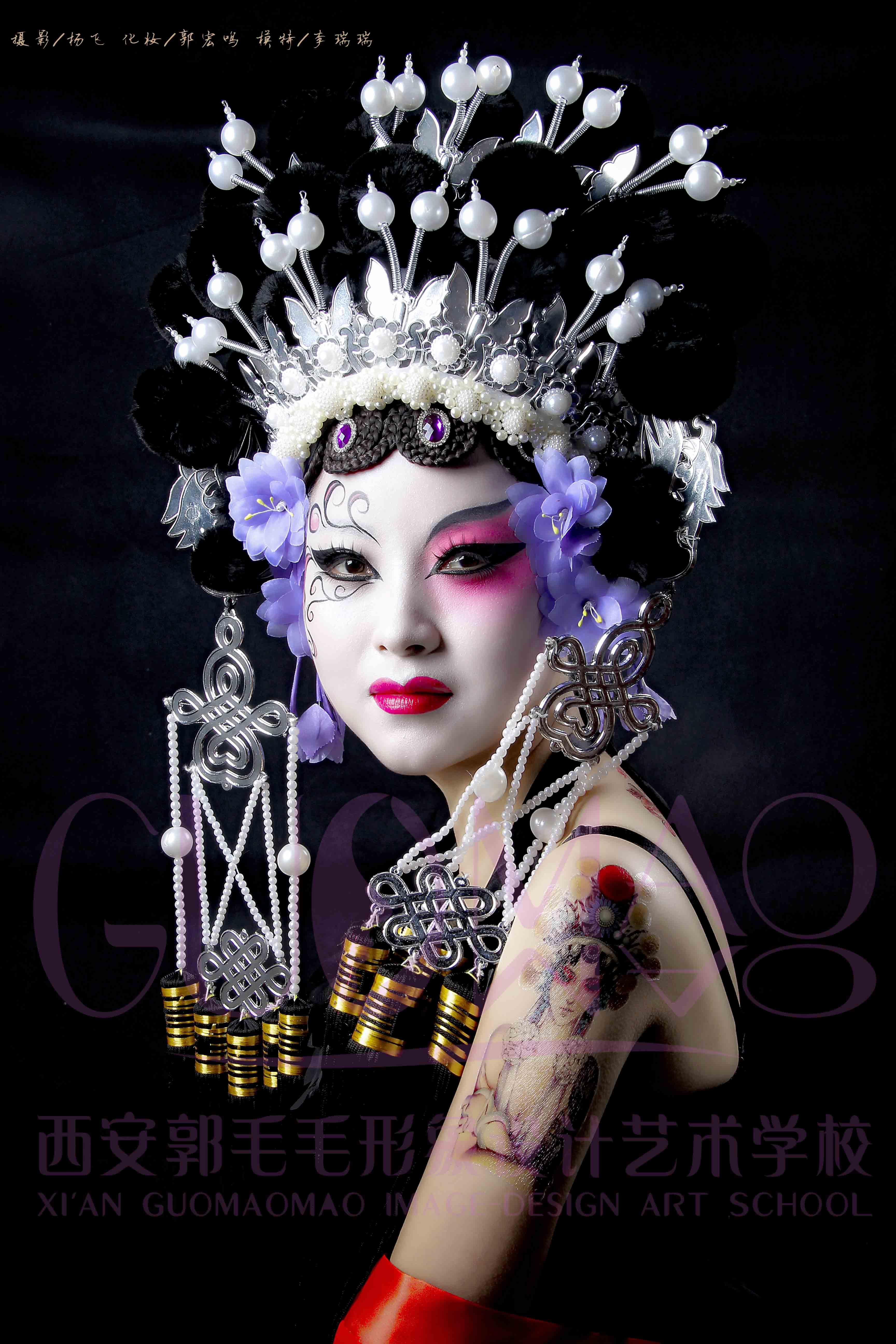 时尚彩妆作品2