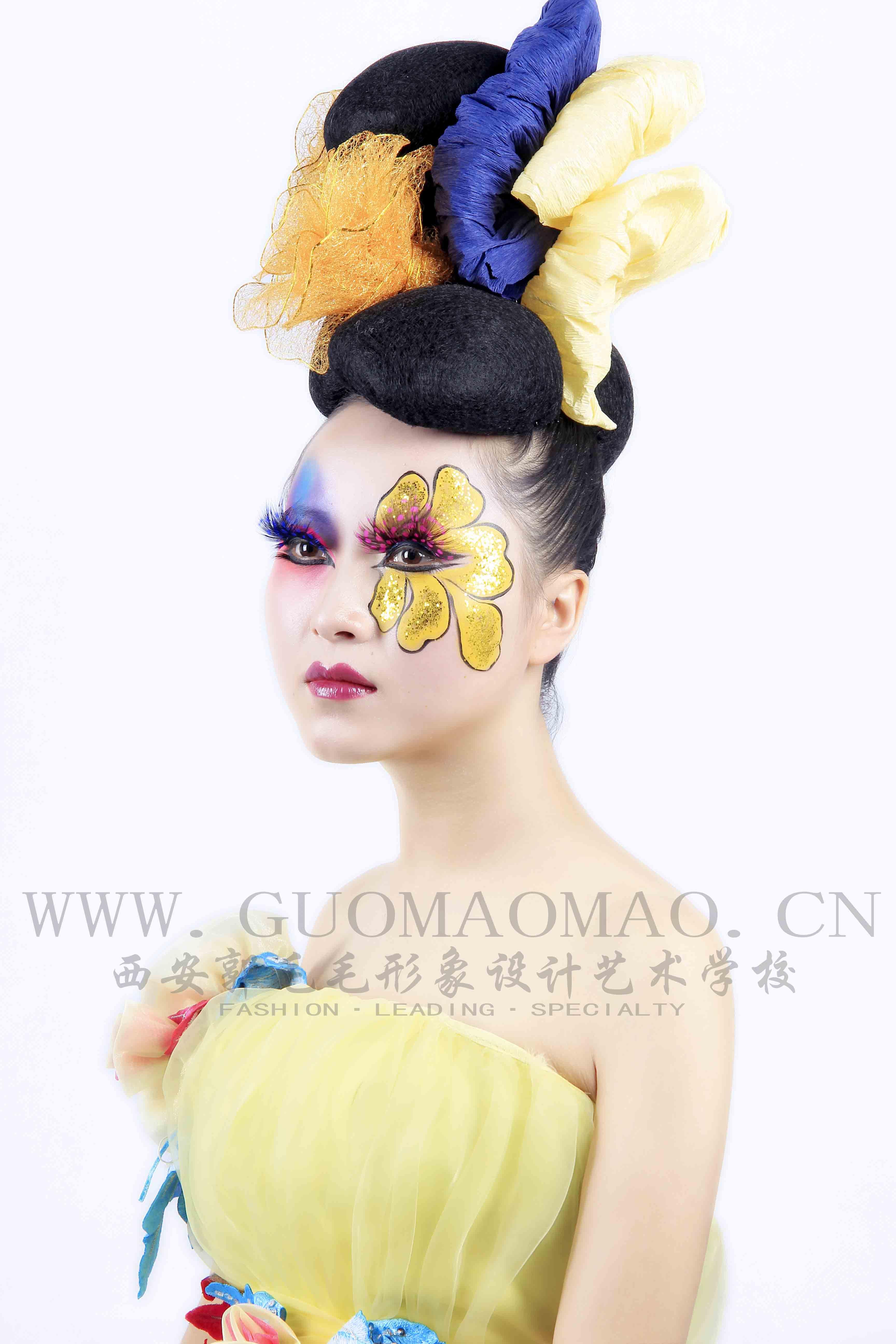 时尚彩妆作品6