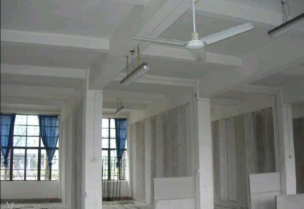 隔墙板的安装方法