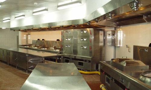 辉煌厨具解析商用厨房设备中的厨房设计面积的估算方法