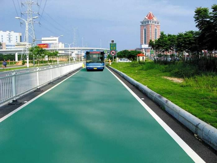 渭南彩色透水沥青路面建设