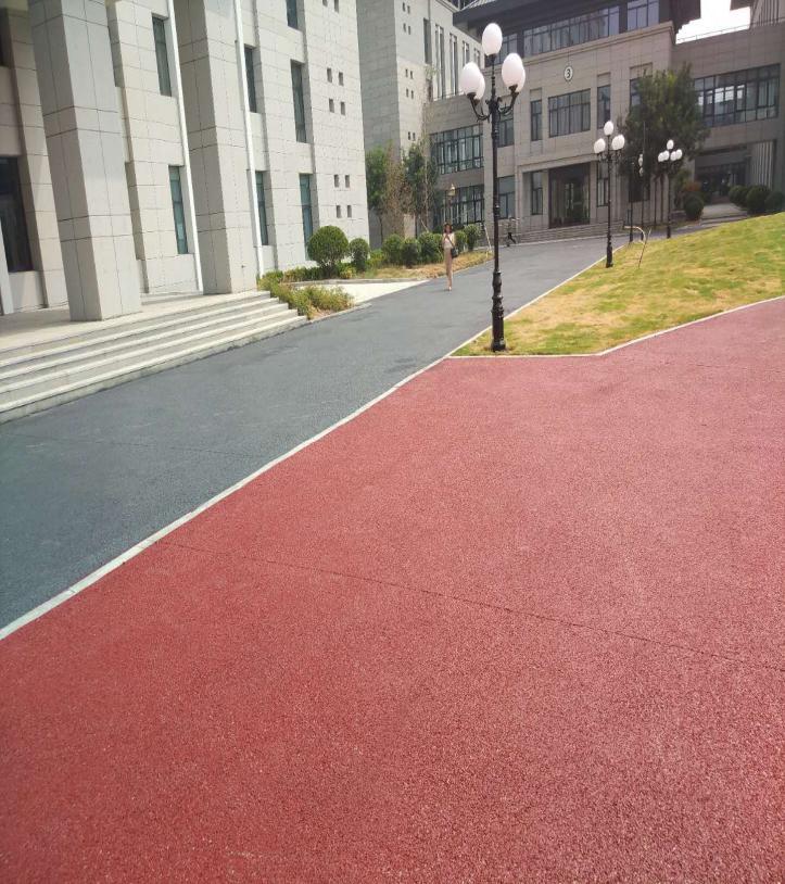 彩色透水地坪工程