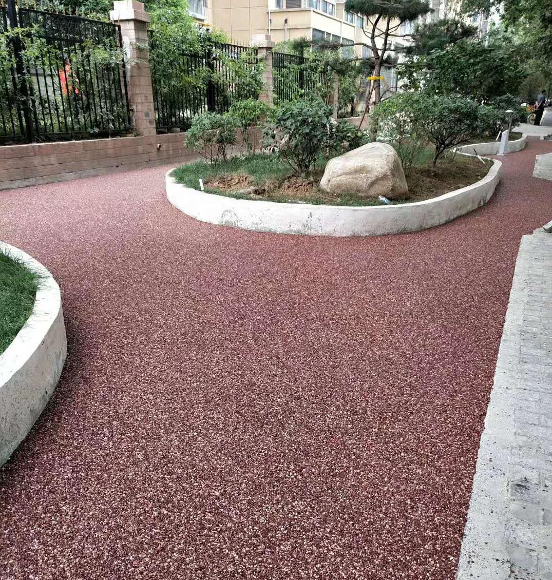 2021年道路施工为什么要选择彩色透水混凝土