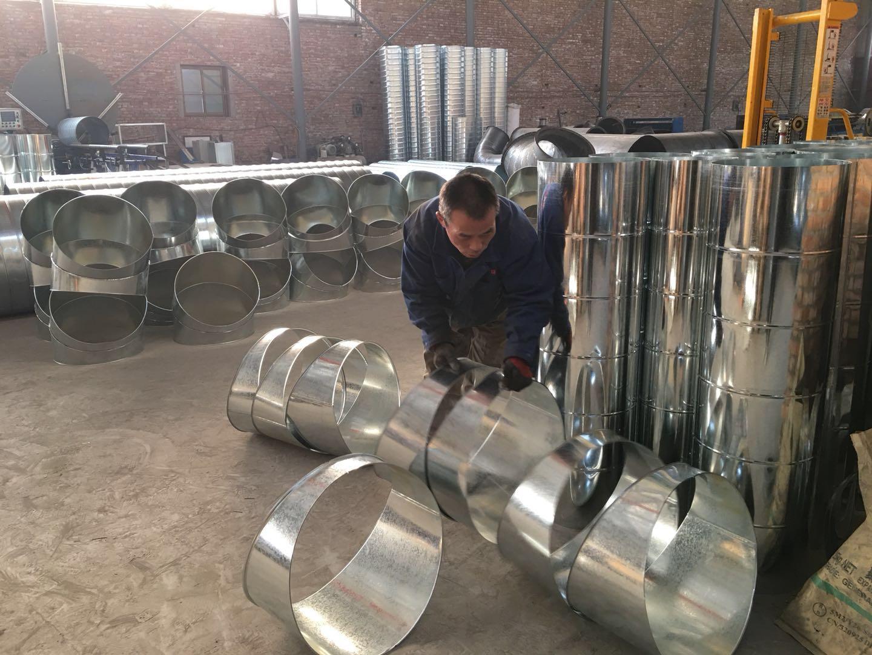 西安焊接螺旋风管