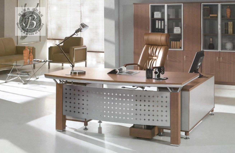 西安办公桌定做板木办公家具