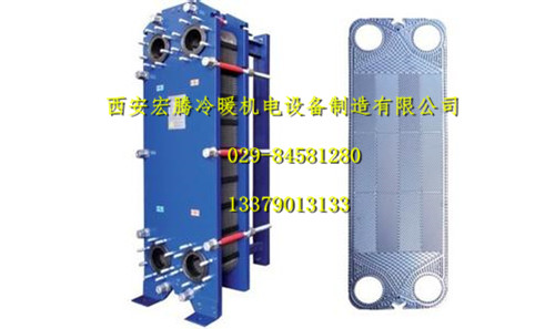 西安宏腾板式换热器清洗