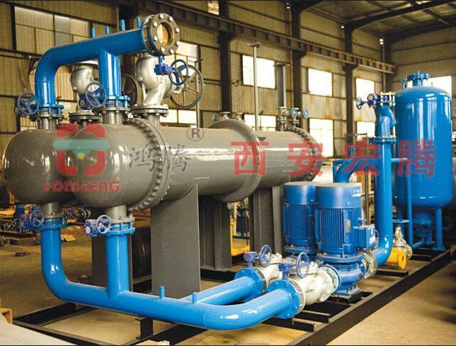 西安换热机组-智能管壳式换热机组