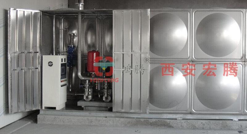 西安箱式无负压供水机组