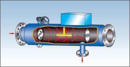 DS反冲排污式电子水处理仪