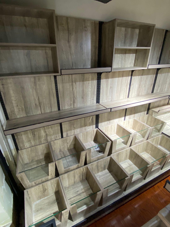 钢木小米桶货柜