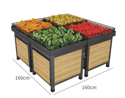 平堆蔬菜货架
