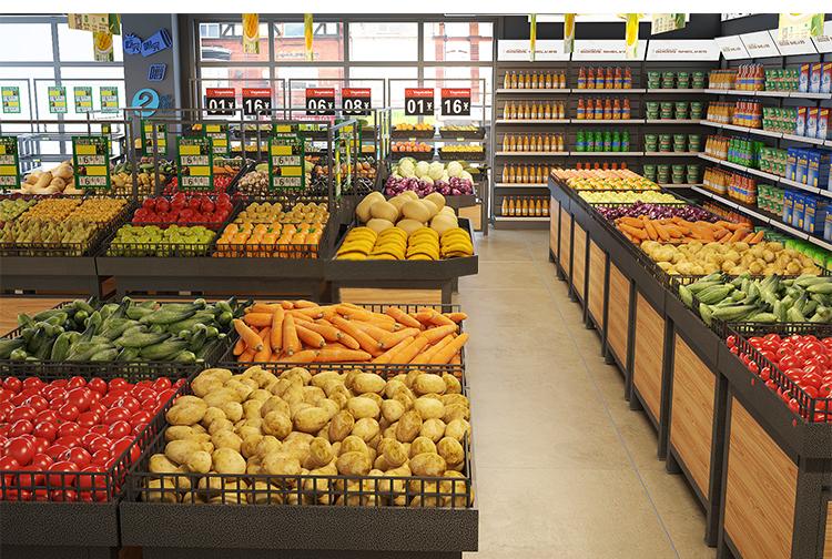 西安蔬菜货架