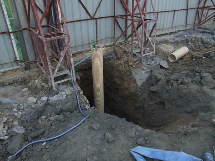 西安打井,施工方案