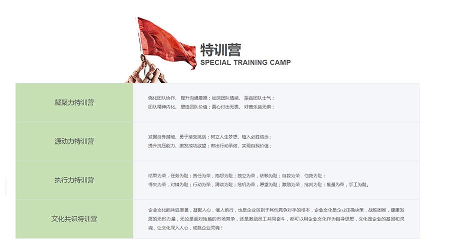 西安公司團隊建設公司