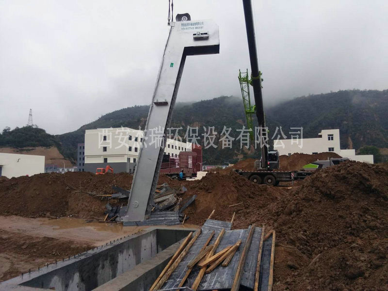 延长石油污水A²O一体化污水处理设备安装项目