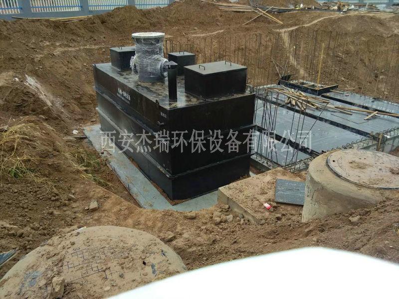 地埋式污水处理设备进行日常维护及故障修理