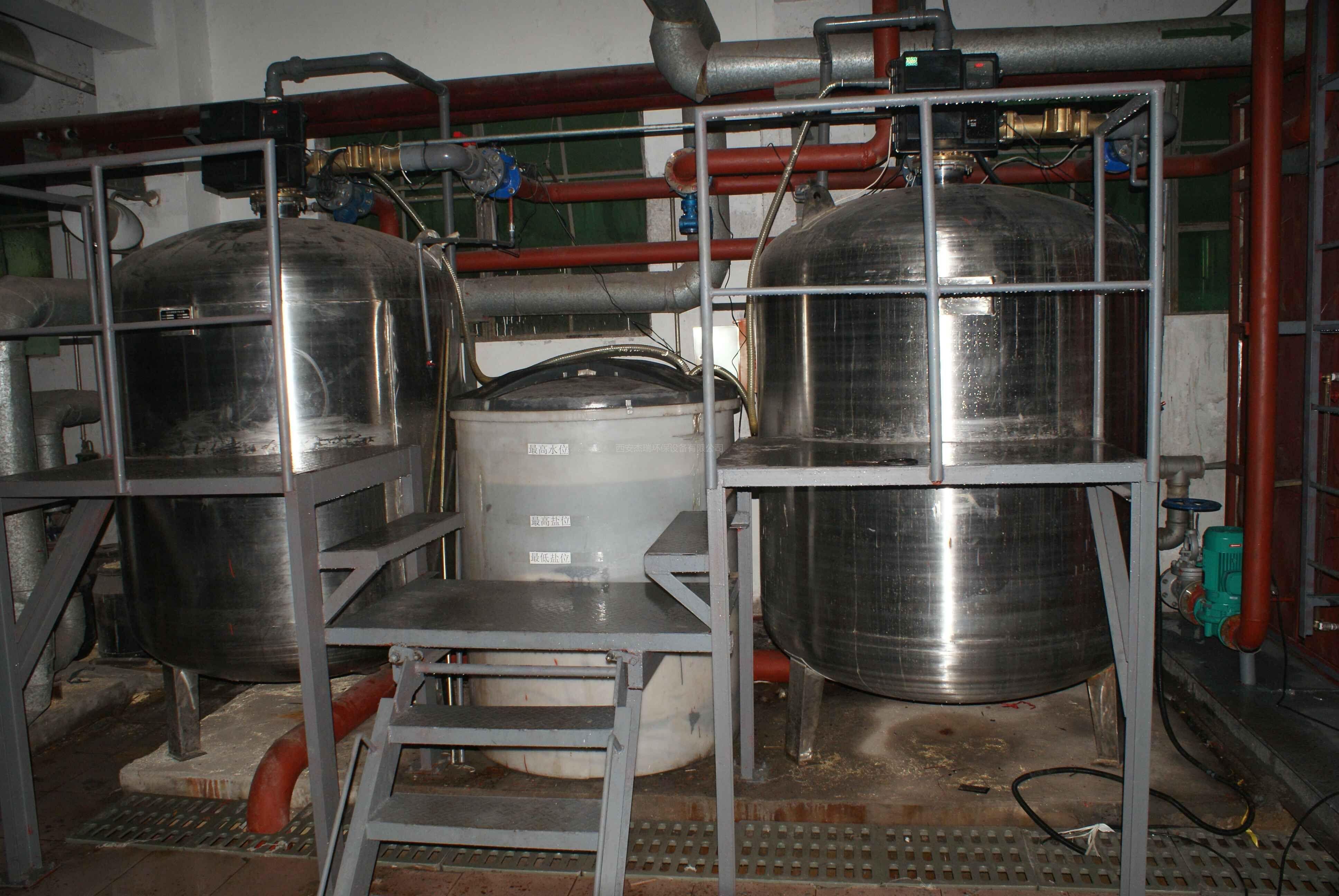 西安电子科技大学纯净水反渗透设备工程案例