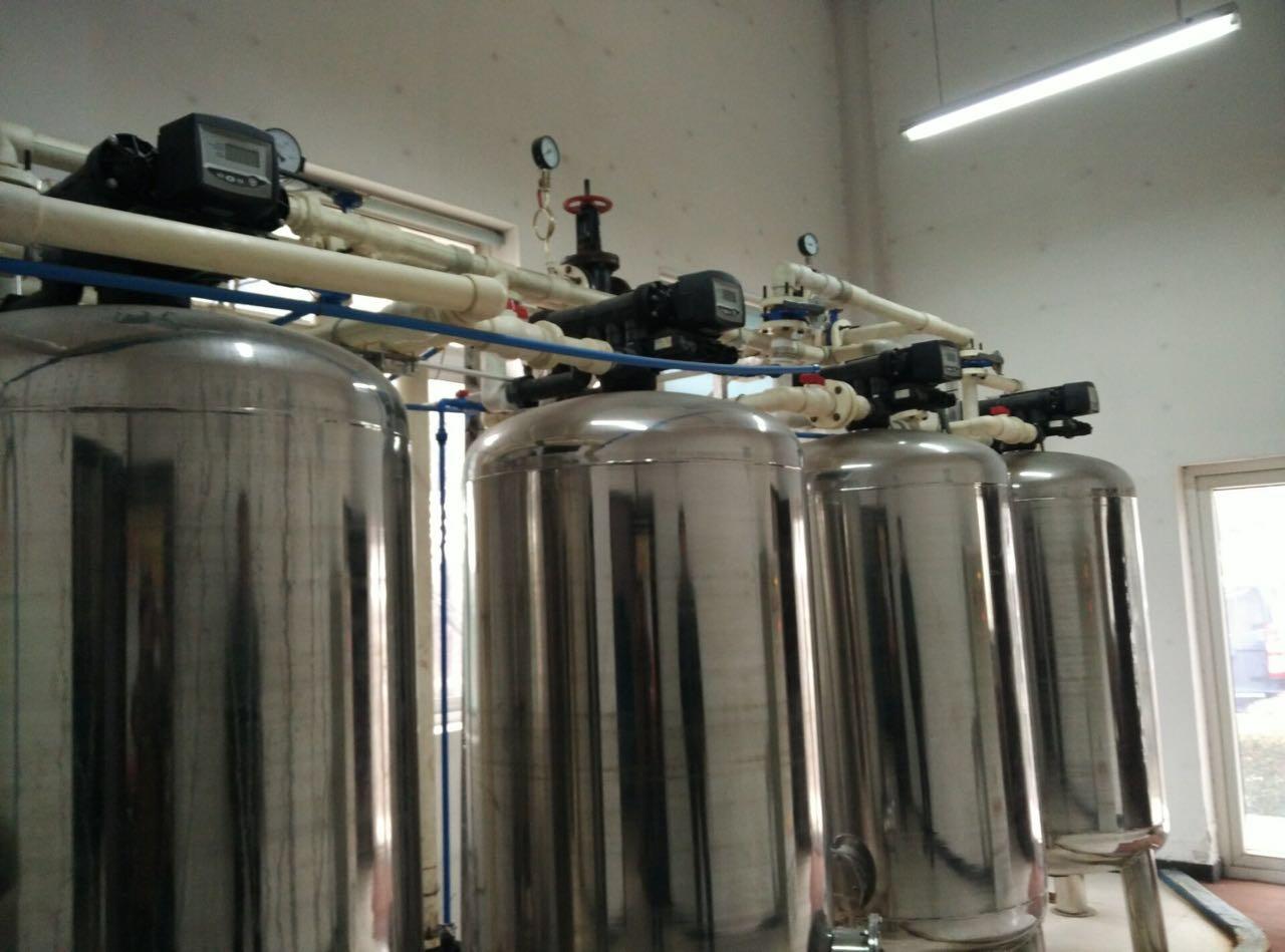 锅炉全自动软水器安装水质达标