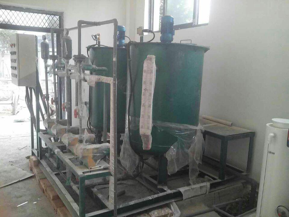 西安三桥医院水处理设备案例