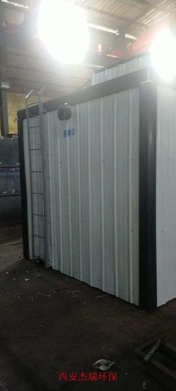 蓝田农村一体化污水处理设备排放水质达标