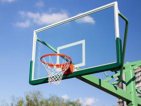 标准篮球架