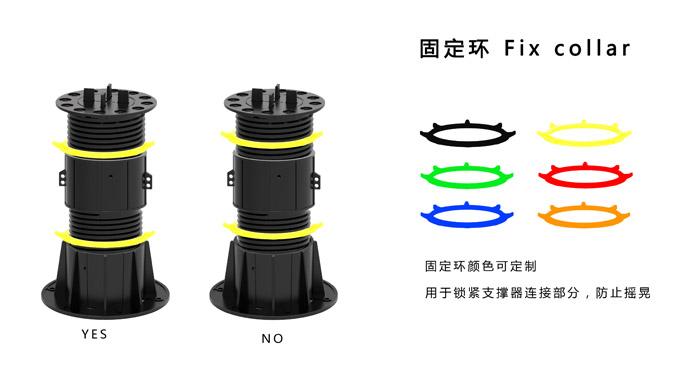 石材支撑器固定环