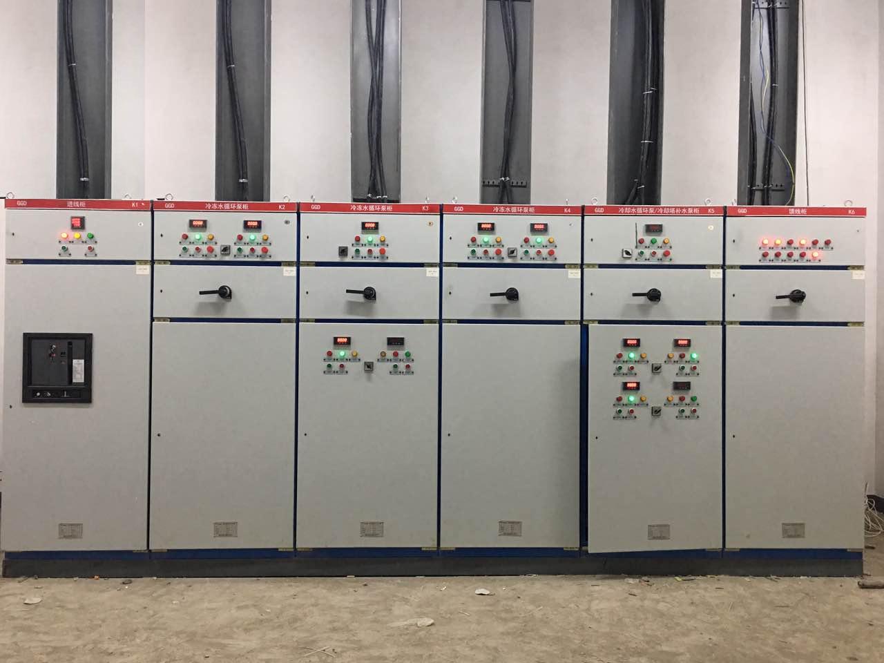 空調板換機組配電柜