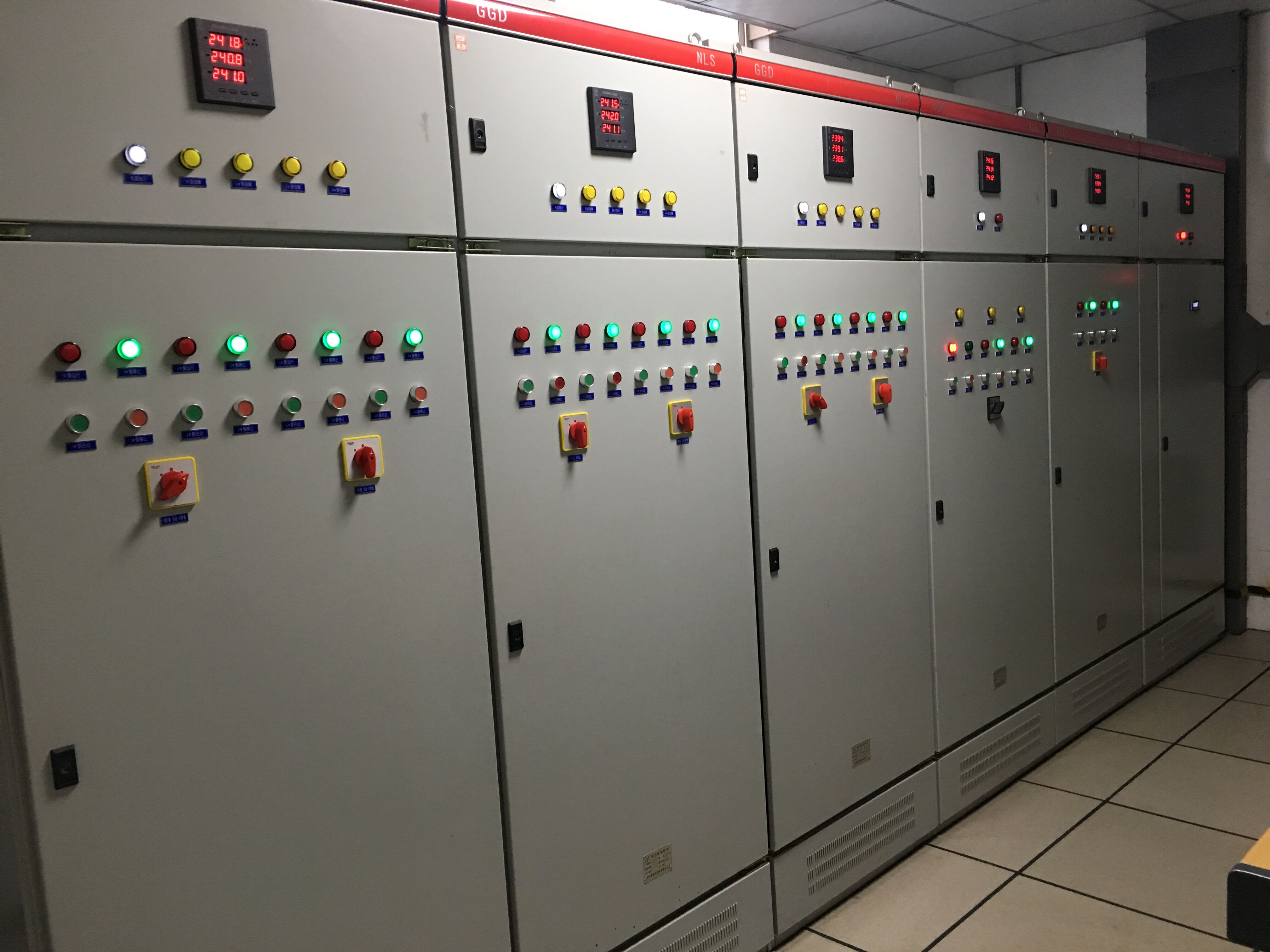 GGD動力配電柜