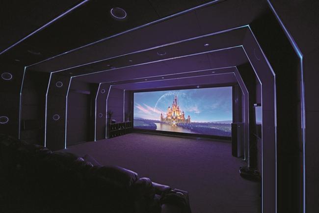 安装家庭影院设计是必不可少的步骤
