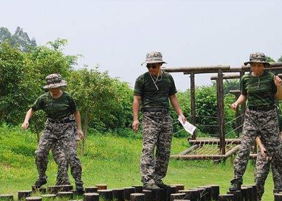员工军事拓展培训