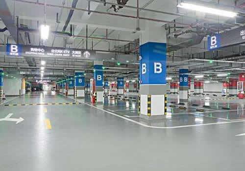 停車場基礎墊層的鋪設